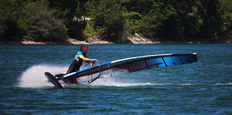 Windsurfen lernen Jibe